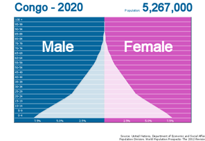 Population Pyramid with Custom Labels