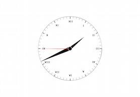 Gauge Analog Clock